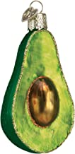 Old World Christmas Ornaments: Avocado Glass Blown Ornaments for Christmas Tree