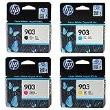 HP 903Noir/cyan/magenta/jaune cartouches d'encre pour Imprimante HP Officejet, HP...