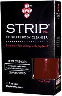 Strip Nc Complete Body Cleanser 1 Oz Liquid & 4 Caps a Covert Labs Extra Strength (Fruit Punch Flavor)