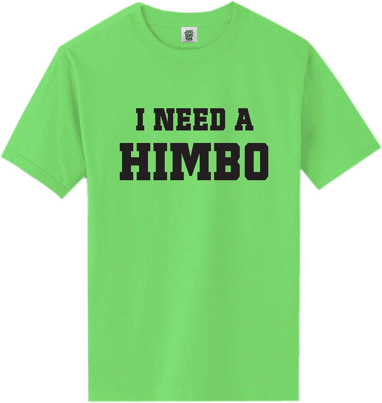 I Need A Himbo Short Sleeve Neon Tee