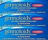 Germoloids Triple Action Cream 55g x 3 Packs