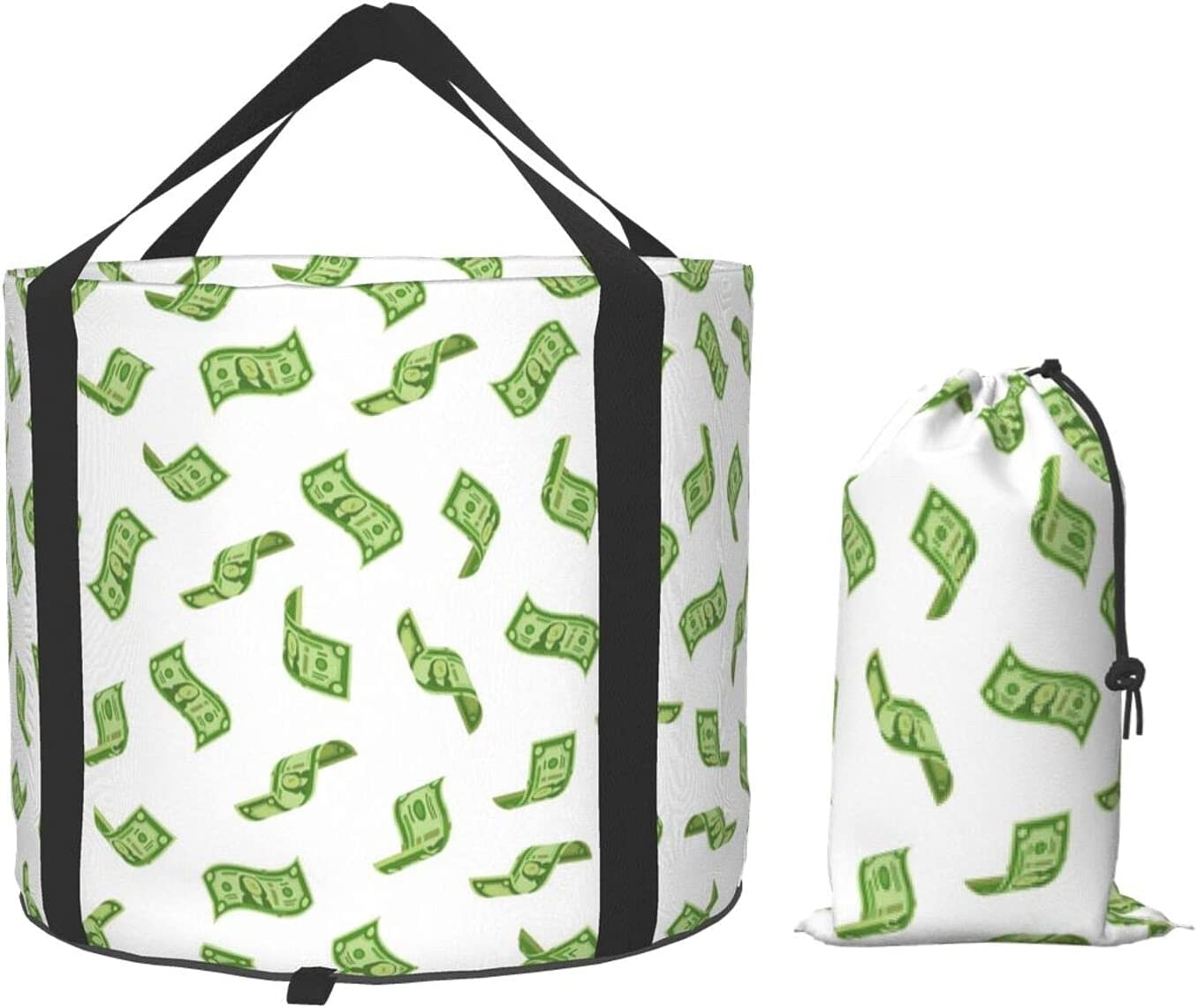 Money Rain Super beauty product restock quality top Dollars Collapsible Bucket shop Folding Portable W Compact