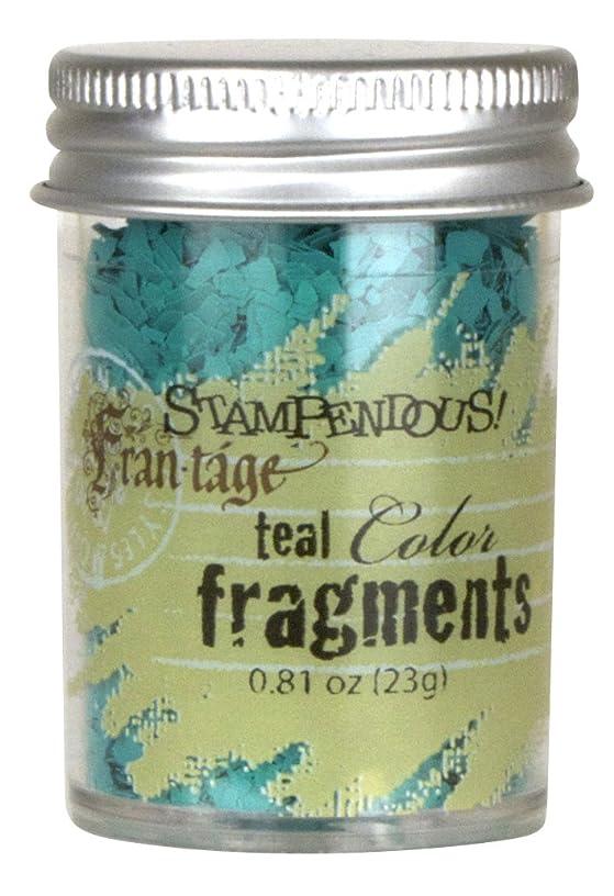 STAMPENDOUS Frantage Color Fragments for Arts and Crafts, Teal