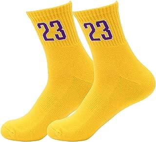 Amazon.es: Amarillo - Calcetines de deporte / Ropa deportiva: Ropa