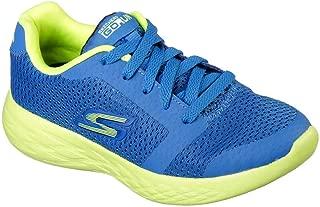 Skechers 斯凯奇儿童 Go Run 600 Zeeton 男童跑鞋 蓝色/绿黄色