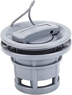 Boat Air Valve, PVC Durable Air Gas Valve Cap Replacement for Inflatable Boat Dinghy Kayak Canoe