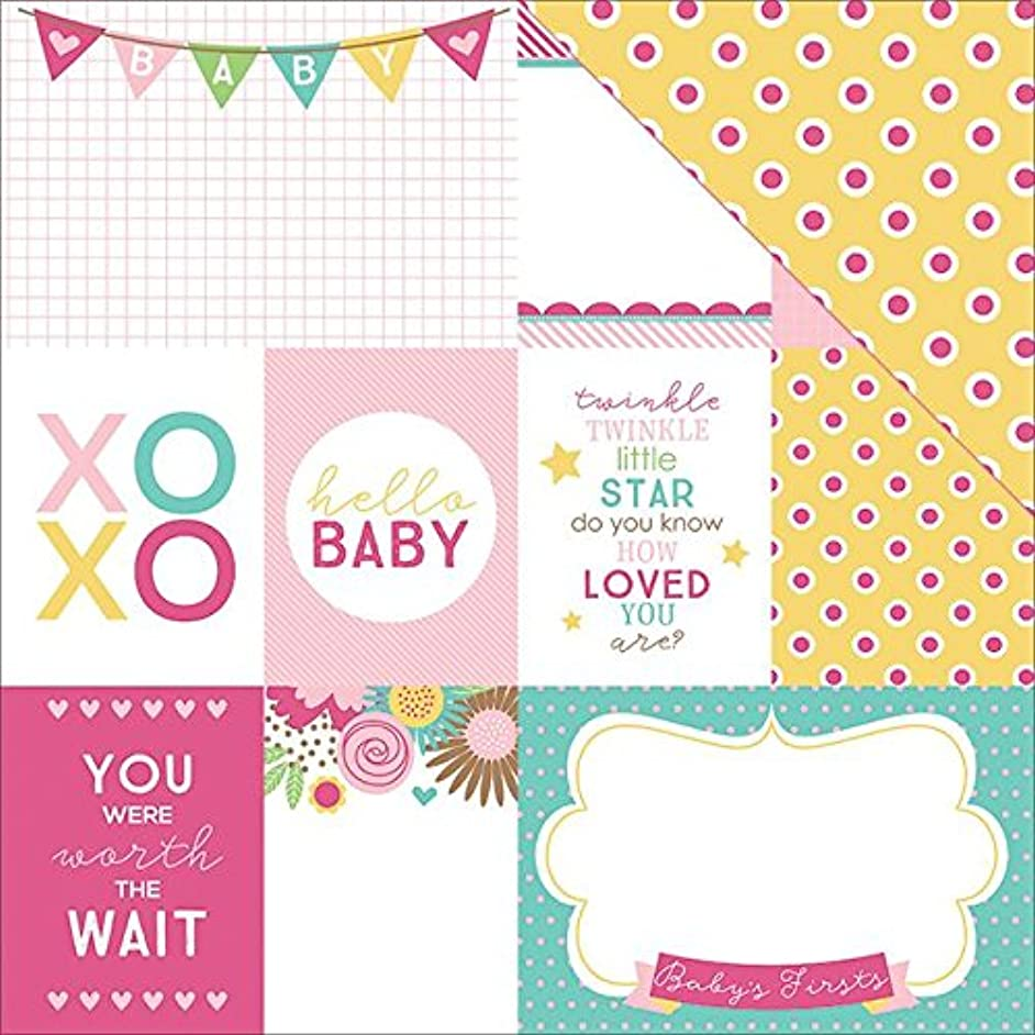 Paper House Productions Hello Baby Tags Girl Paper Craft Product (15 Pack), Piece