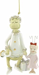 Lenox Grinch's Very Merry Sound Ornament Cindy Dr Seuss Who Stole Christmas
