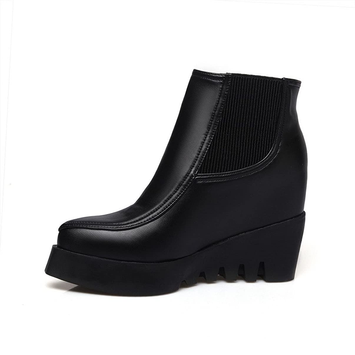直接名義でハプニング[ヴォーグゾーン009] ウィメンズ インヒール ウェッジヒール 短靴 109903