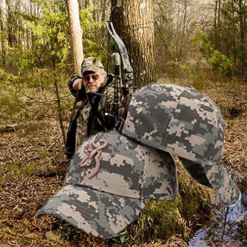 Jagd Jagd Cap Jagd Mütze -Outdoor Camping Jagd Camouflage Cap Baseballmütze Browning-Baseball Cap Angeln Caps Männer Outdoor Jagd Camouflage Dschungel Hut Airsoft Tactical Wandern Camo Casquette Hüte