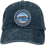 Bandanas Huntington Beach City Seal - Gorra de béisbol unisex para hombre y mujer, talla única ajustable