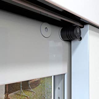 Magnetolock V2.0 (Blanco).Bloqueo de seguridad para ventanas y puertas correderas. Bloqueo con ventana cerrada y abierta. Ajustable posición de ventilación para seguridad niños, bebé y mascotas.: Amazon.es: Hogar