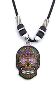 Mood Pendant Necklace - Skull/F