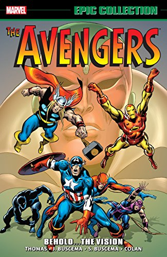 Avengers Epic Collection: Behold... The Vision (Avengers (1963-1996)) (English Edition)