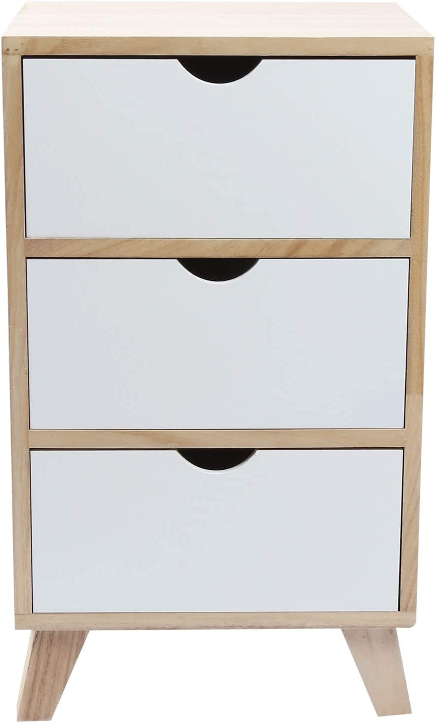 LIUTT Bedside favorite Table Simple Cabinet 3 Night T Limited price Drawer with
