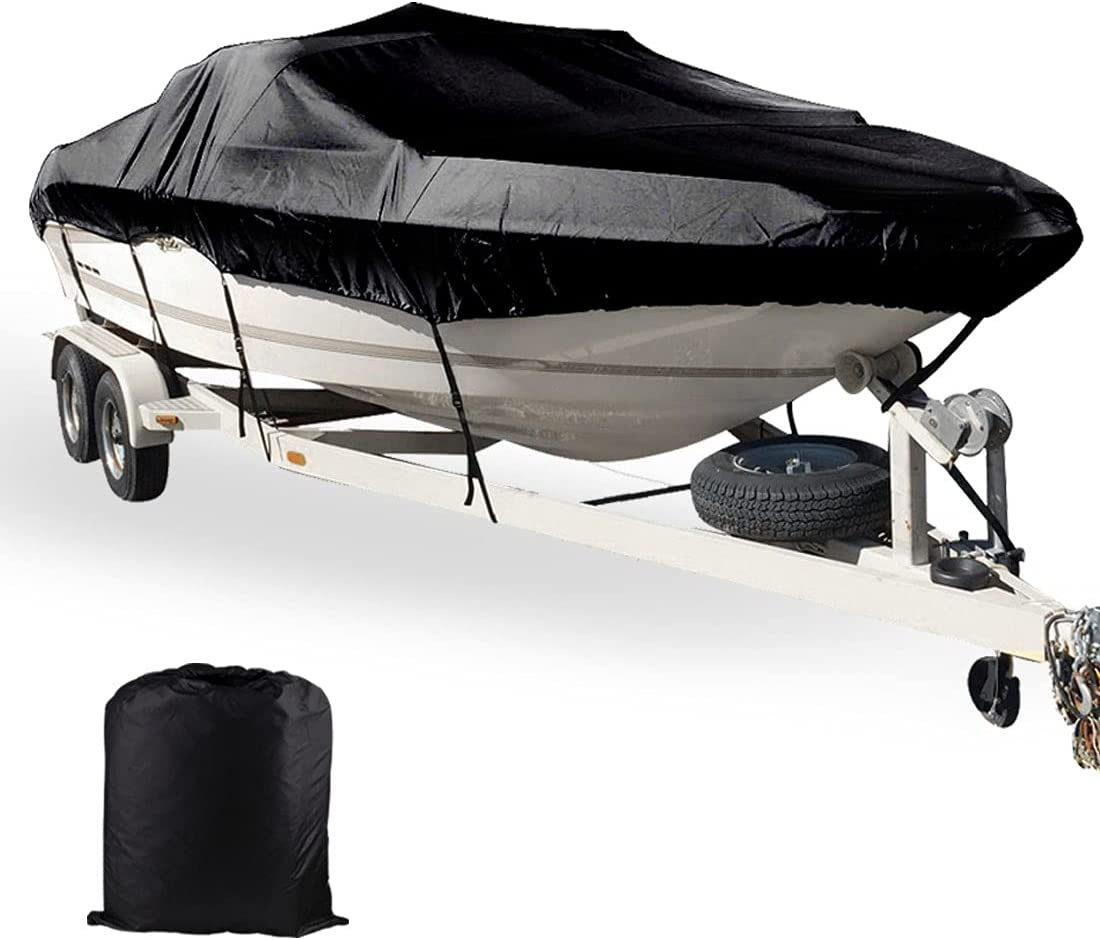 Proshell Boat Cover Fits 800D Grade Sacramento Mall Marine Inexpensive 20ft-22ft