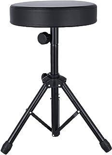 EastRock Universal Drum Throne,Padded Drum Seat Drumming...