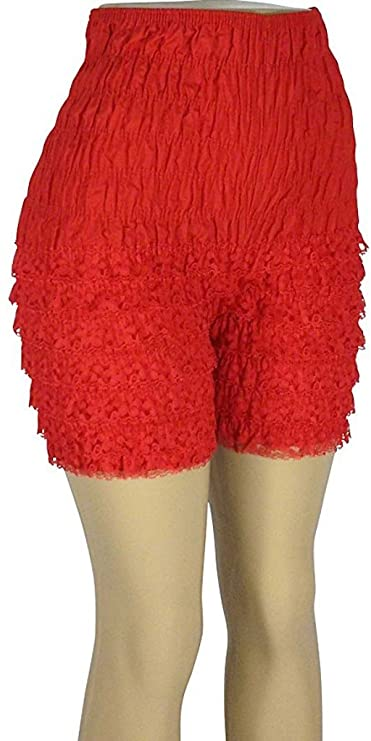 1960s – 1970s Lingerie & Nightgowns Malco Modes Jaime Pettipants Style N21 Woman Costume Shorts Sexy Ruffle Panties Lacey Dance Shorts $49.99 AT vintagedancer.com