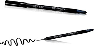Lápis Carbon Black Para Olhos Top Beauty, Top Beauty