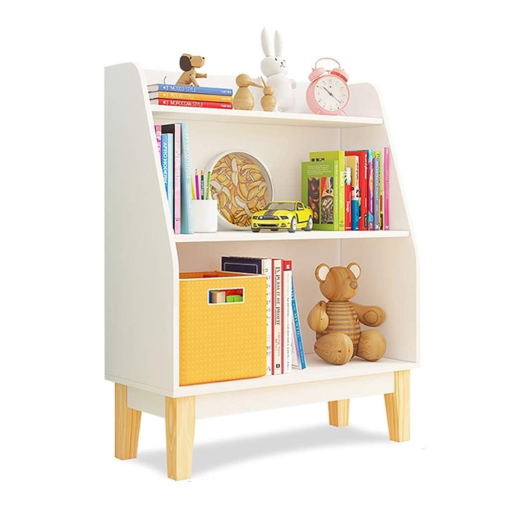 山岳相手ハリウッドCDラック 子供の本棚 CD収納ラック 絵本スタンド フロアスタンドディスプレイスタンド 家庭用ベビー玩具収納キャビネット