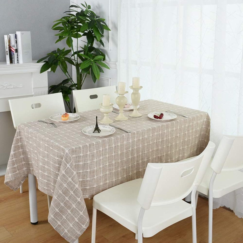 LL Nappes Tissu de Nappe de Famille de nappes de Coton rectangulaire Moderne Simple à voiturereaux à la Maison de Nappe (Taille   130  240cm)