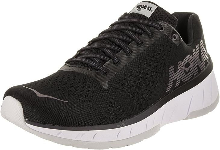 HOKA ONE ONE Men's Cavu Running chaussures noir blanc Taille 11.5 M US