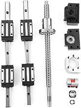 1605 Kugelumlaufspindel Linearschiene,Linearlager Slide,F/ührungsschienen-Schiebetisch mit Nema23 57-Schrittmotor f/ür automatisierte Maschinen und Ausr/üstungen(400mm Hub)