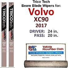 Best 2017 volvo xc90 wiper blade size Reviews
