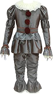 iCos Men's Adult Dancing Clown Joker Dressed Up Halloween Costume Party Outfit
