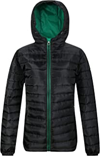 SUNDAY ROSE Women's Puffer Jacket Hooded Quilted Puffy Coats