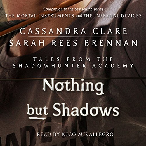 Nothing but Shadows audiobook cover art