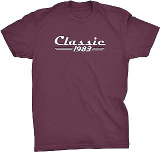 36th Birthday Gift T-Shirt - Classic 1983 Retro