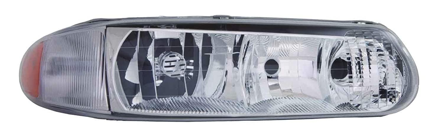 DEPO 332-1183R-USN Buick Century/Regal Passenger Side Head Lamp Lens and Housing Combination