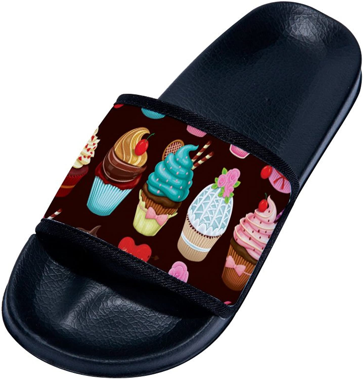 Buteri Cute Cupcakes Summer Breathable Quick-Drying Non-Slip Slippers