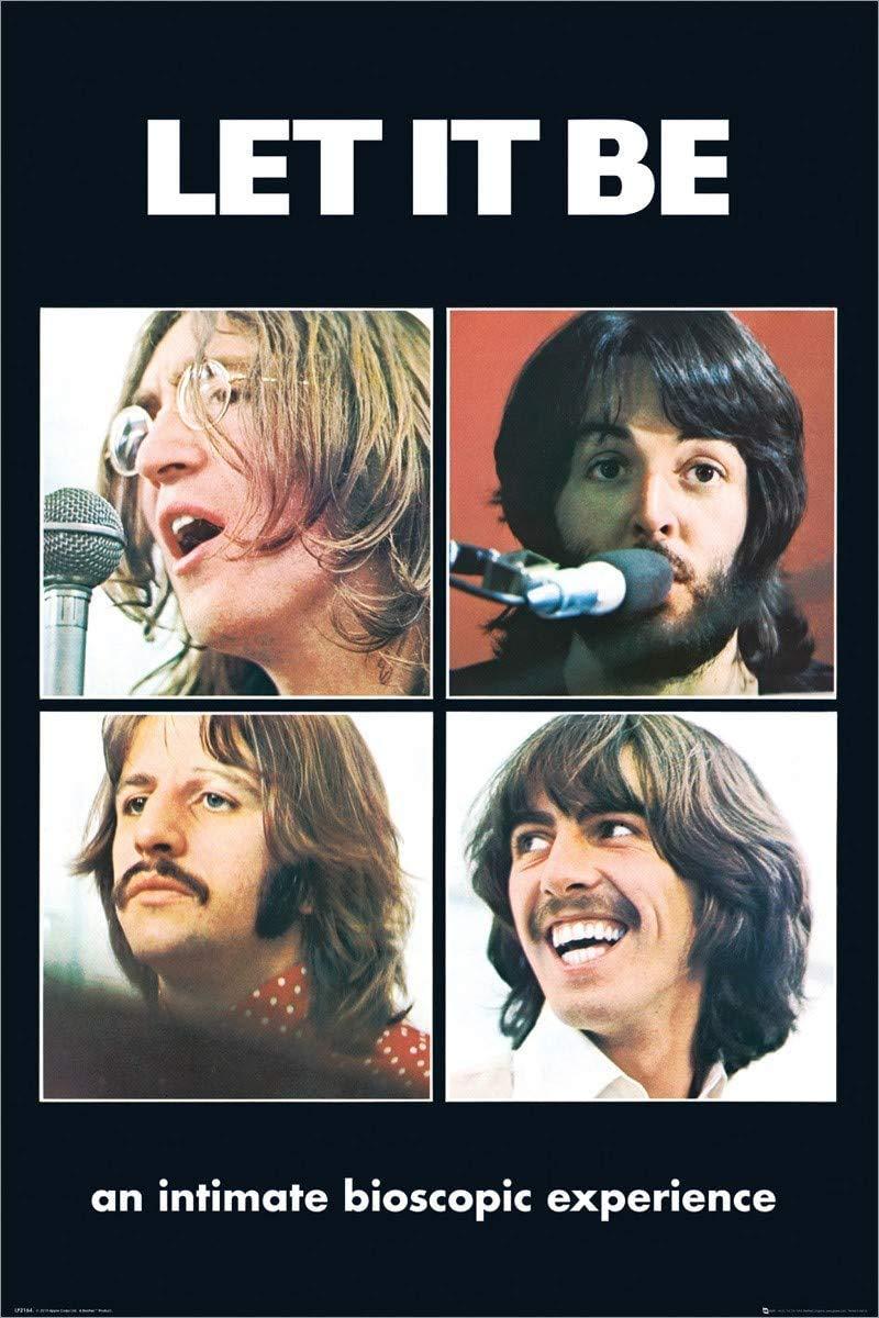 1art1 The Beatles Let it Be Póster grande (61 x 91,5 cm): Amazon.es: Hogar