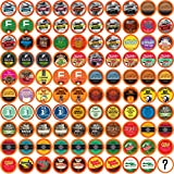Two Rivers Coffee, Tea, Cocoa, Cider, Cappuccino Variety Sampler Pack Compatible with 2.0 Keurig K-Cup Brewers, 100 Count - Bit of Everything - Perfect Gift