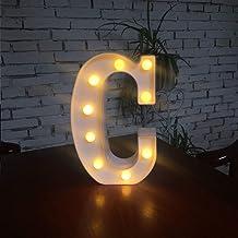 XingYue Direct 1 stuk letterverlichting en symbolen liefde hart, voor liefde, bruiloft, huwelijk, party, vakantie, bar dec...