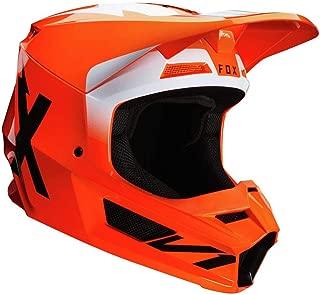 Fox Racing Werd Men's V1 Off-Road Motorcycle Helmet - Fluorescent Orange/Medium