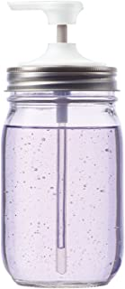 Jarware 82651 Soap Pump for Regular Mouth Mason Jars, 6