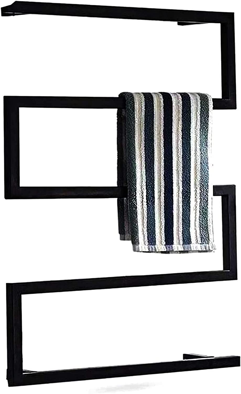 Electric Heated Towel Drying Mounted Wall Rack Modern Max 90% OFF Max 70% OFF