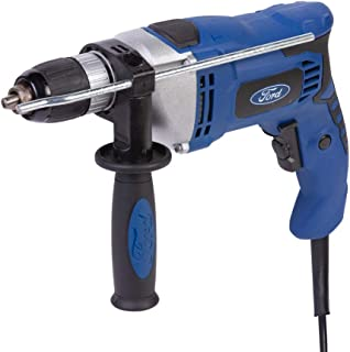 Ford 1050 Watts Electric Impact Drill with 5 Drill Bits and 13mm Keyless Chuck