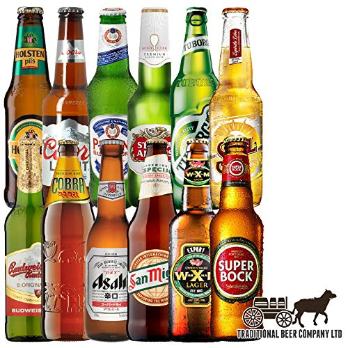 Lagers Of the World Case of 12