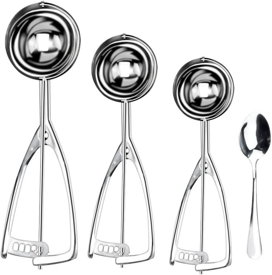 Cookie Scoop Challenge the lowest price for Baking Set of D Cream Columbus Mall 3 Ice Cookies