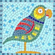 Kit Nessun taglio necessario. makes 2/Roman Style sottobicchieri mosaico con vero vetro piastrelle