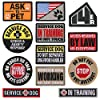 """14er Tactical Service Dog Patches (12-Pack) 