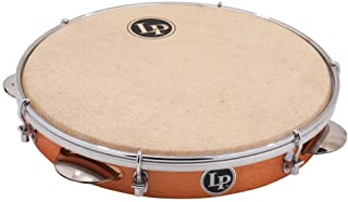 LP RIO 10 inch Tunable Wood Pandeiro with Natural Head LP3010N