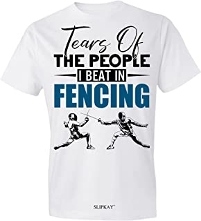 Tears of The People I Beat in Fencing T-Shirt,Gift