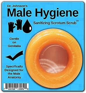 Male Hygiene Sanitizing Scrub Gentle Genital Soap for Men Pain-Free Mild Fragrance, 1 Count