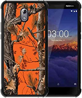 for Nokia 3.1 Case Hunting Camo Fabric Camouflage Pattern, ABLOOMBOX Slim Thin Anti-Scratch Flexible Bumper Case with Reinforced Corner for Nokia 3.1 Phone Case
