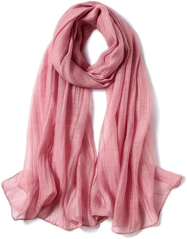 Maerye Autumn Lady Scarf Solid color Scarf Warm Fashion Shawl 195  80cm